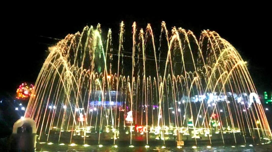 Air Mancur Kaliurang Wisata Malam Unik Di Yogyakarta
