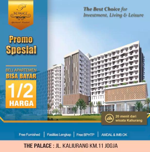 Apartemen Terbaik Di Yogyakarta Untuk Hunian Hingga Investasi !